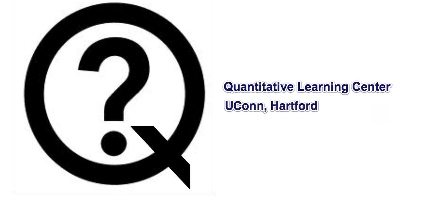 LOGO: Quantitative Learning Center UConn, Hartford